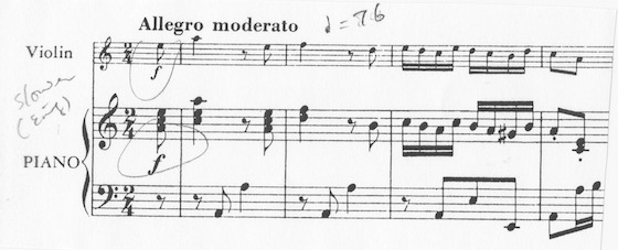 Bach concerto