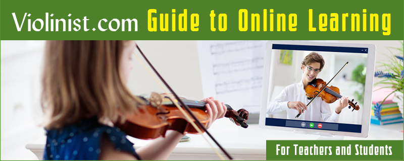 Violin Online Learning and Teaching Guide
