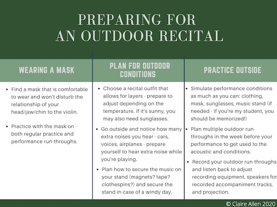 Outdoor Recital