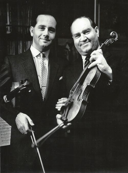 Igor and David Oistrakh