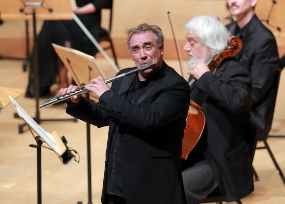 Jaime Martin plays flute
