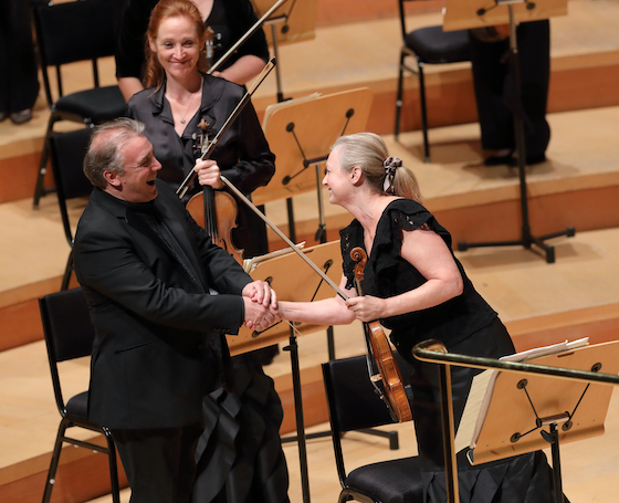 Jaime Martin and Margaret Batjer