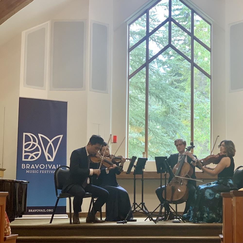 Viano Quartet Bravo! Vail Interfaith Chapel