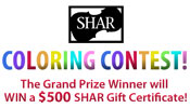 SHAR Music - Coloring Contest!