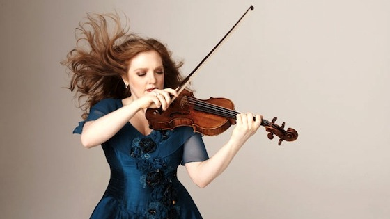 Violinist.com interview with Rachel Barton Pine: Sonatas by Mendelssohn, Pisendel and Corigliano