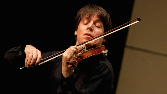 Violinist.com interview with Joshua Bell: At Home with Friends