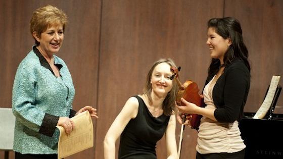 2011 Starling-DeLay Symposium on Violin Studies at Juilliard: Ida Kavafian master class