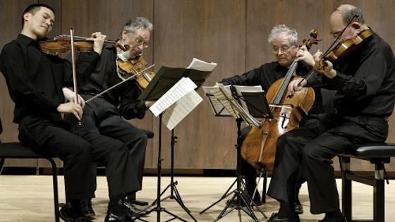 Juilliard String Quartet Performs Beethoven and Discusses Music-Making