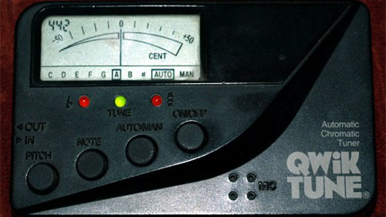 You can play in tune without a chromatic tuner: Ringing tones explained