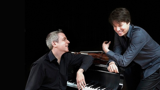 Violinist.com interview with pianist Jeremy Denk: 'French Impressions' with Joshua Bell