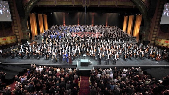 Los Angeles Philharmonic's Mahler Project: Mahler Symphony No. 8 -- 1,027 musicians take the stage!