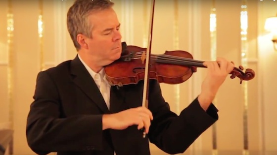 Violinist.com interview with Frank Almond: the 1715 Lipinski Strad