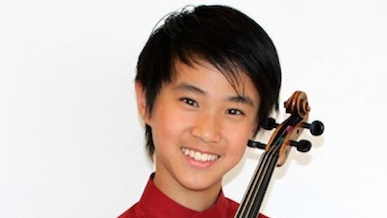 Interview with Kevin Zhu, 13, past winner of Menuhin Competition