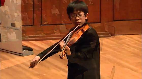 Interview with Rennosuke Fukuda, 1st Prize Winner in 2014 Menuhin Junior Division