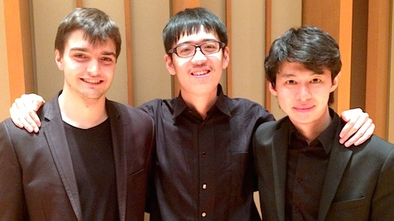 Zhanbo Zheng, 17, of China, wins first prize in 2014 Primrose International Viola Competition