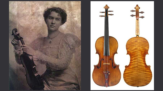 Happy 300th Birthday to the 'Leonora Jackson' Stradivari Violin