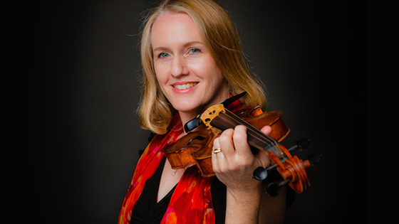 Listen to Laurie's Public Radio Interview about Violinist.com
