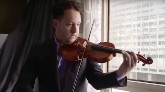 How Giora Schmidt found his modern violin