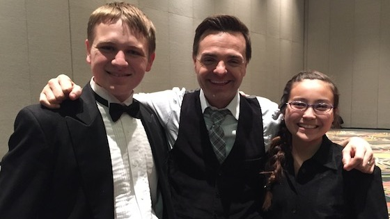2015 ASTA Conference Kicks off with 'Piano Guys' Cellist