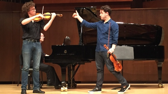 Master Class with Giora Schmidt and Brian Lewis