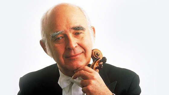 Violinist and conductor Joseph Silverstein, (1932-2015)