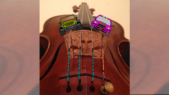 """Switching to Viola: The String, Your """"Road"""" to Great Sound!"""