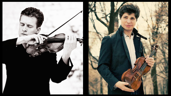Augustin Hadelich and Christian Tetzlaff nominated for Grammy Awards