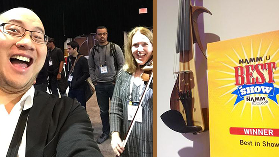 The 2016 NAMM Show: New Technology, Gear and Instruments