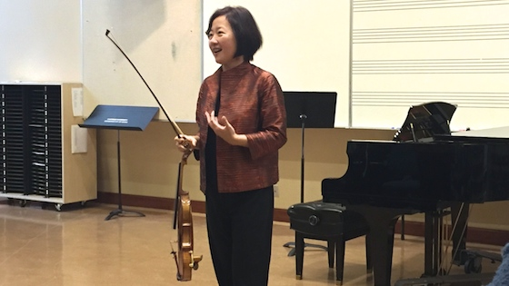 Bach Master Class with Bing Wang