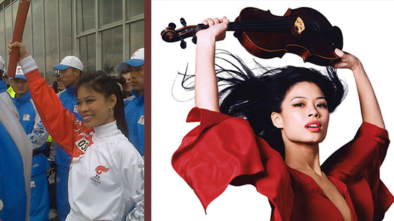 Vanessa Mae finally wins...an apology