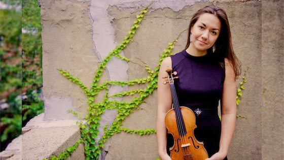 Women's History Month: Ariana Kim Champions Women's Compositions for Violin
