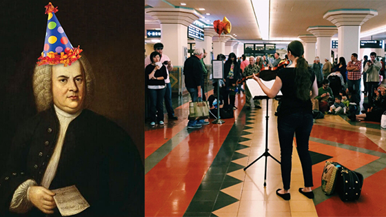 Happy Birthday, Dear Johann: Thousands Worldwide to Play for Bach in the Subways this Weekend
