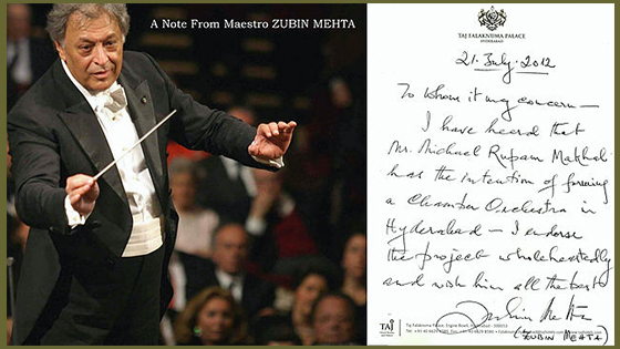 A Note from the Maestro