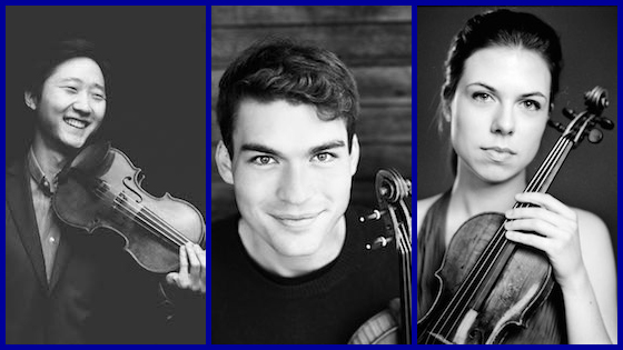 Three Violinists Chosen for 2016 Avery Fisher Career Grants