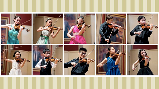 Menuhin Competition announces Junior Semi-Finalists