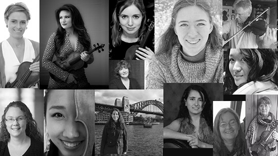 Here are the 14 who finished my NY Philharmonic violin audition Challenge! border=0 align=
