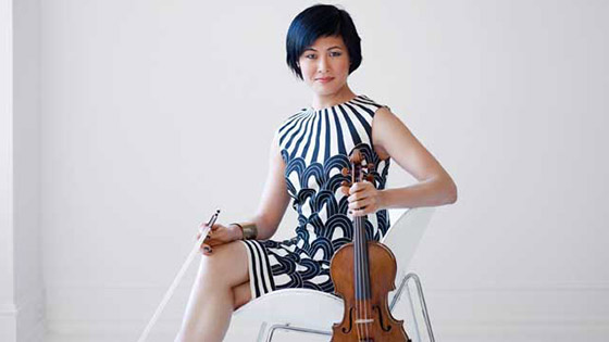 The Week in Reviews, Op. 138: Jennifer Koh, Simone Lamsma, Vadim Gluzman