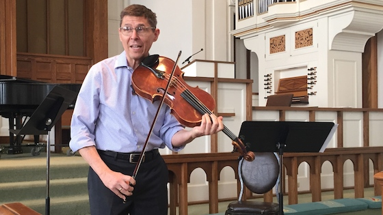 Master Class with Peter Slowik: the Viola in Chamber Music