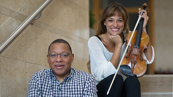 Interview with Nicola Benedetti: Wynton Marsalis's New Violin Concerto