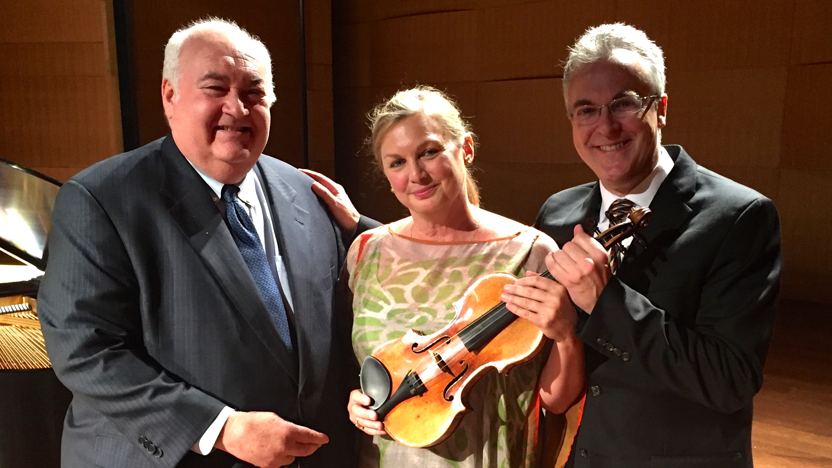 Happy 300th Birthday to the 'Milstein' Stradivarius! border=0 align=