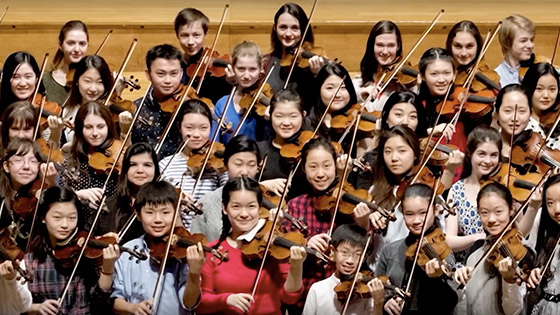 Menuhin Competition London 2016 Documentary