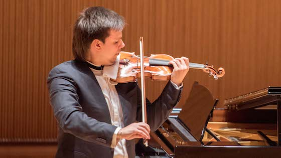 From Shanghai: Sergei Dogadin plays Paganini 20 and 21