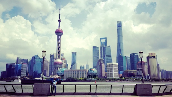 Pictures from a Day in Shanghai
