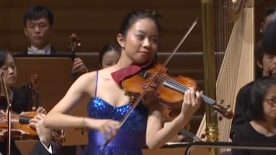 Videos of the Finalists in the Shanghai Isaac Stern International Violin Competition