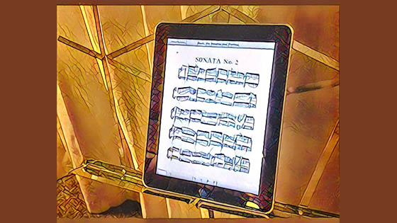 V.com Weekend Vote: Do you ever use digital sheet music and readers? And is this the last stand for the printed score? border=0 align=