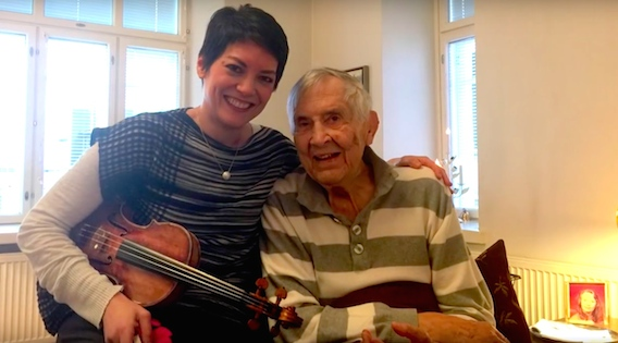 Anne Akiko Meyers and Einojuhani Rautavaara