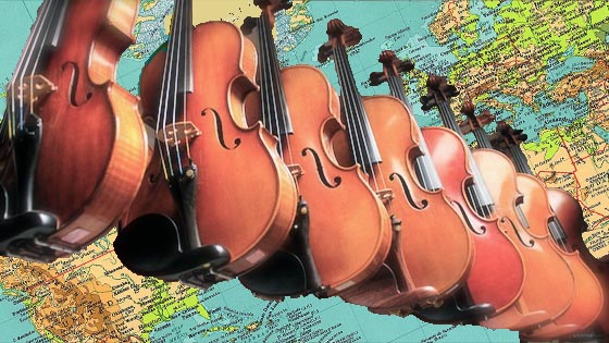world violins