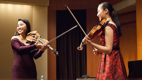 A Masterclass with Sarah Chang at The Manhattan School of Music