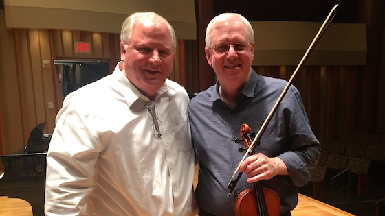 Guest Master Class with Stephen Shipps at the Colburn School, 2016