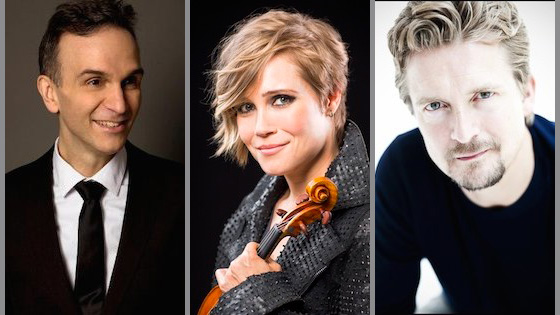 Leila Josefowicz, Christian Tetzlaff and Gil Shaham nominated for 2017 Grammys